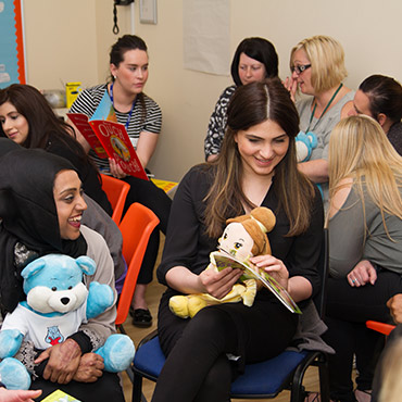 Storytelling and Rhyme Time Training